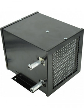 Aeroterma pe baza de apa cu un ventilator de 12V